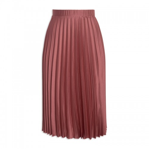 Rose Pleated Skirt -