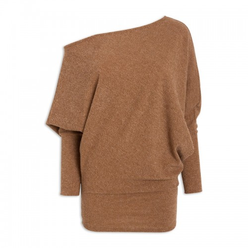 Tan Knit Dress -