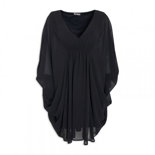Black Batwing Dress -