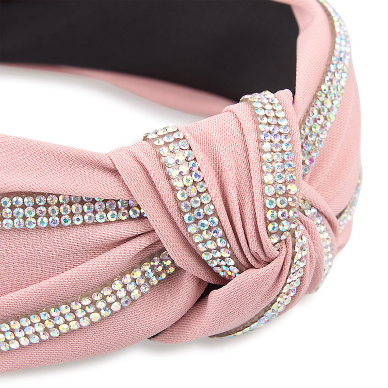 Pink Diamante Headband -