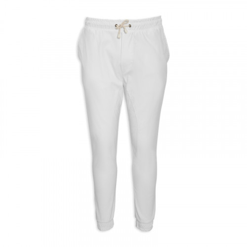 White Long Cuff Trouser -