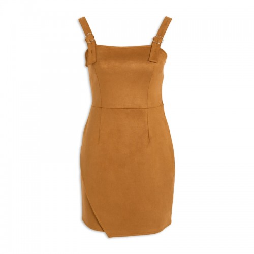 Mustard Pinafore Dress -