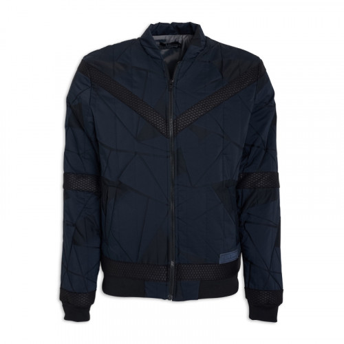 Navy Fashion Puffer -