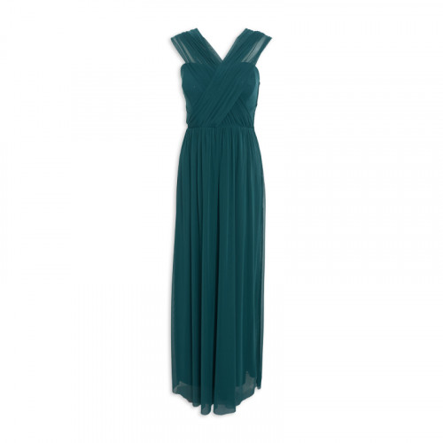 Teal Multiway Maxi Dress -