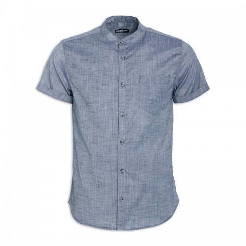 Navy Short Sleeve Shirt -