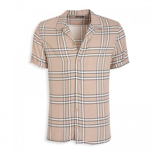 Stone Check Short Sleeve Shirt -
