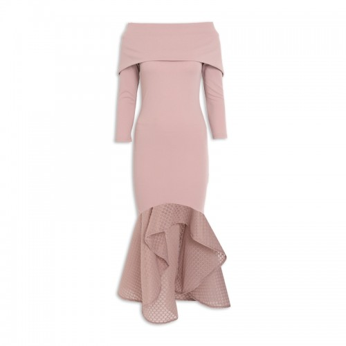 Rose Fishtail Dress -