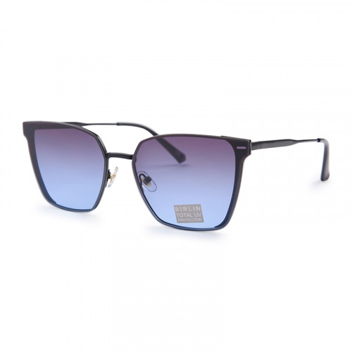 Blue Clubmaster Sunglasses -