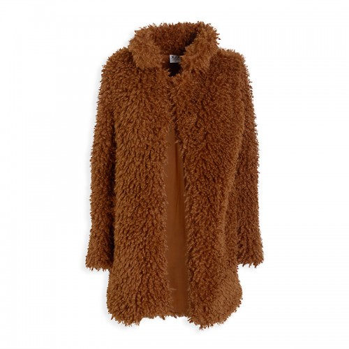 Walnut Shaggy Coat -