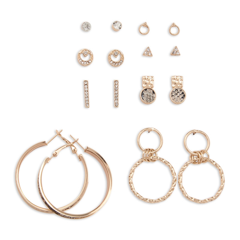 Snake 8Pack Earring Set -