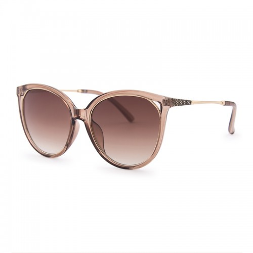 Caramel Over-sized Sunglasses -