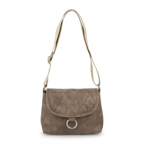 Brown Quilted Bag -