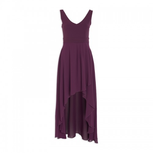 Purple Hi-Low Dress -
