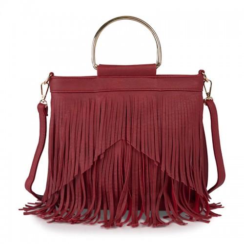 Red Tassel Hobo -