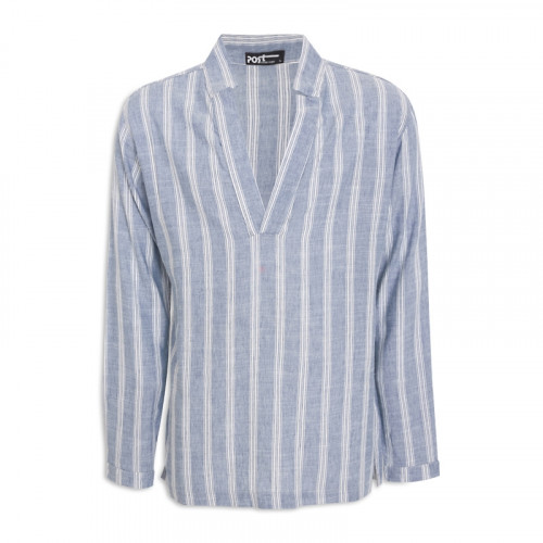 Stripe Long Sleeve Shirt -