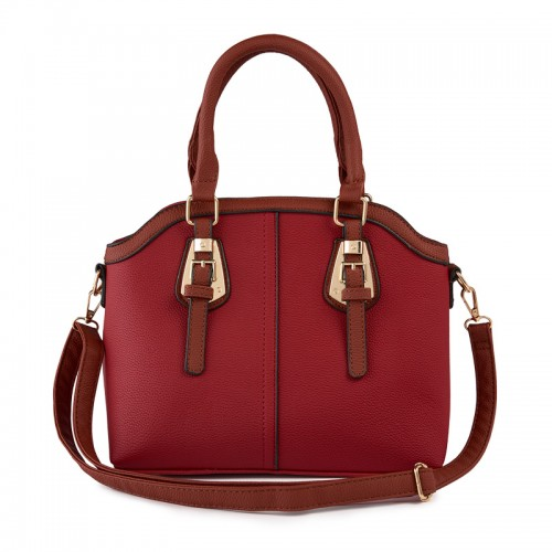 Red Buckle Bag -