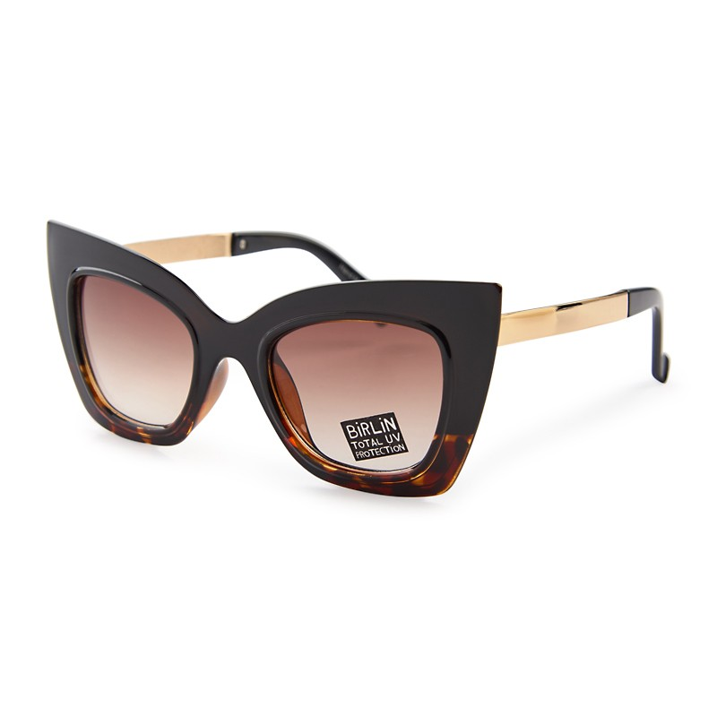 295fa0f4be6 Black Cateye Sunglasses - Eyewear