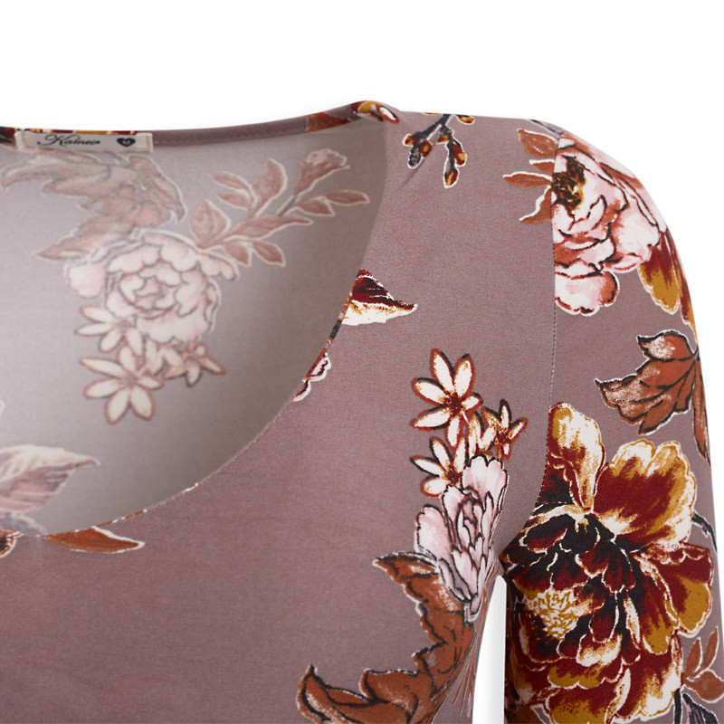 Dusty Floral Bodysuit -