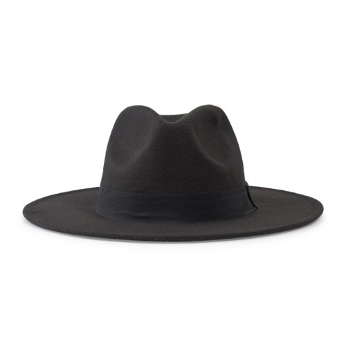 Black Fedora Hat -
