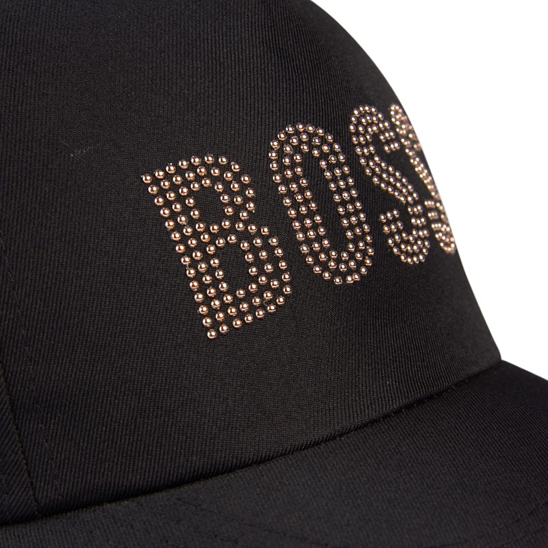 Black Boss Cap -