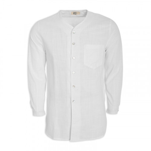 White Tunic Shirt -