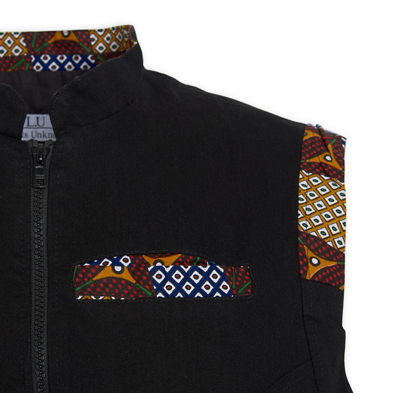 Black Tribal Jacket -