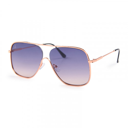 Blue Aviator Sunglasses -