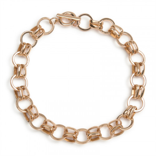 Soft Gold Chain Necklace -