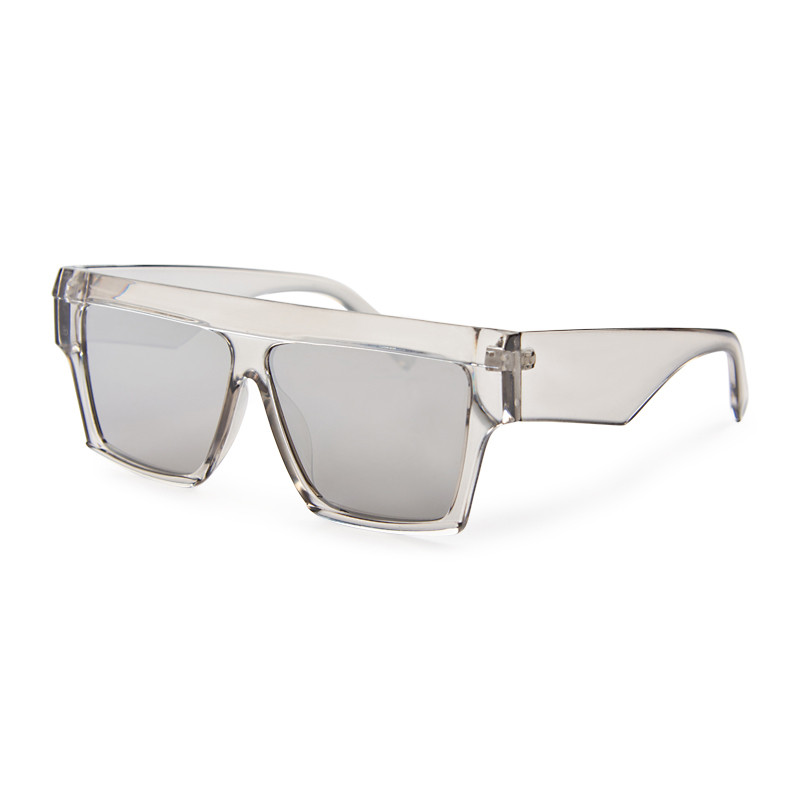 Silver Flat Top Sunglasses -