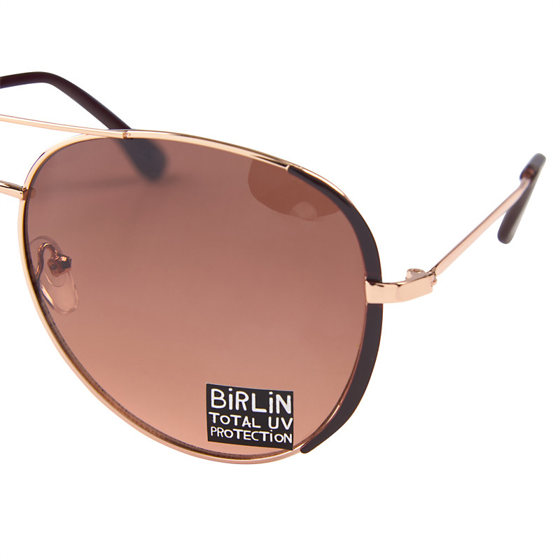 Choc Aviator Sunglasses -