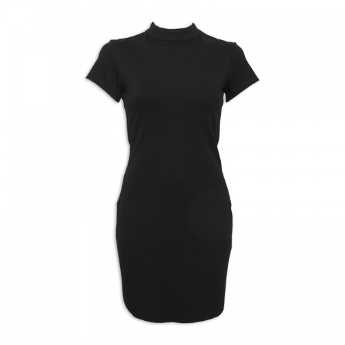 Black Turtleneck Dress -