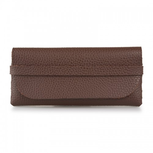 Brown Sunglass Case -