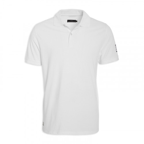 White Short/Sleeve Golfer -