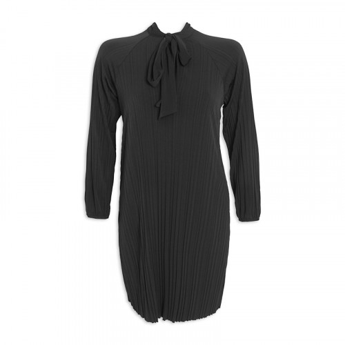 Black Pleated Tunic -