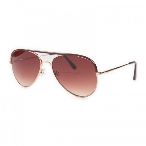 Brown Enamel Sunglasses -