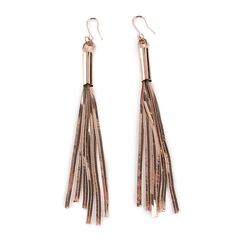 Rose-Gold dangling Earrings -