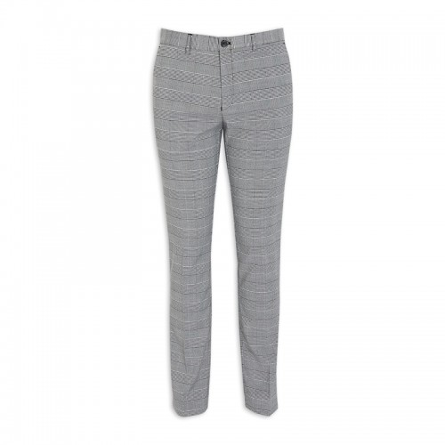 Grey Check Trouser -