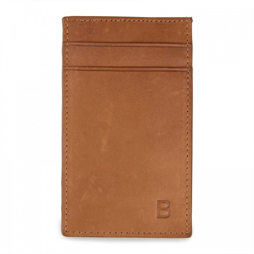 Tan Leather Cardholder -
