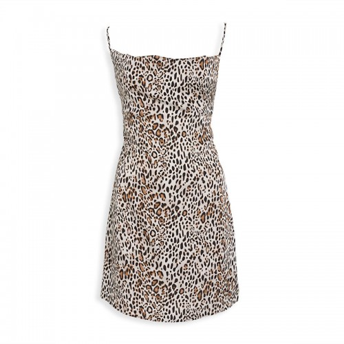 Animal Slip Dress -