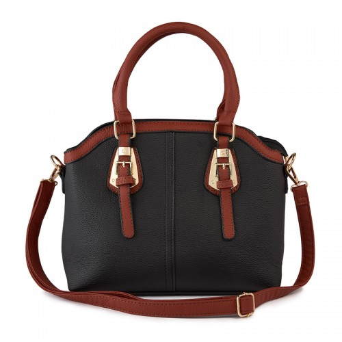 Black Buckle Bag -