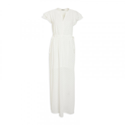 Ivory Anglaise Summer Dress -