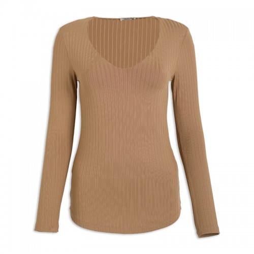 Butterscotch Slinky Top -