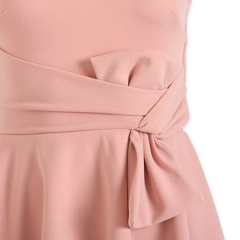 Blush Bow Dress -