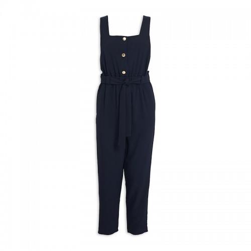 Ink Pinafore Jumpsuit -