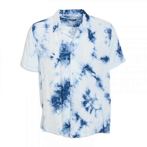 Tie Dye Short Sleeve Shirt -
