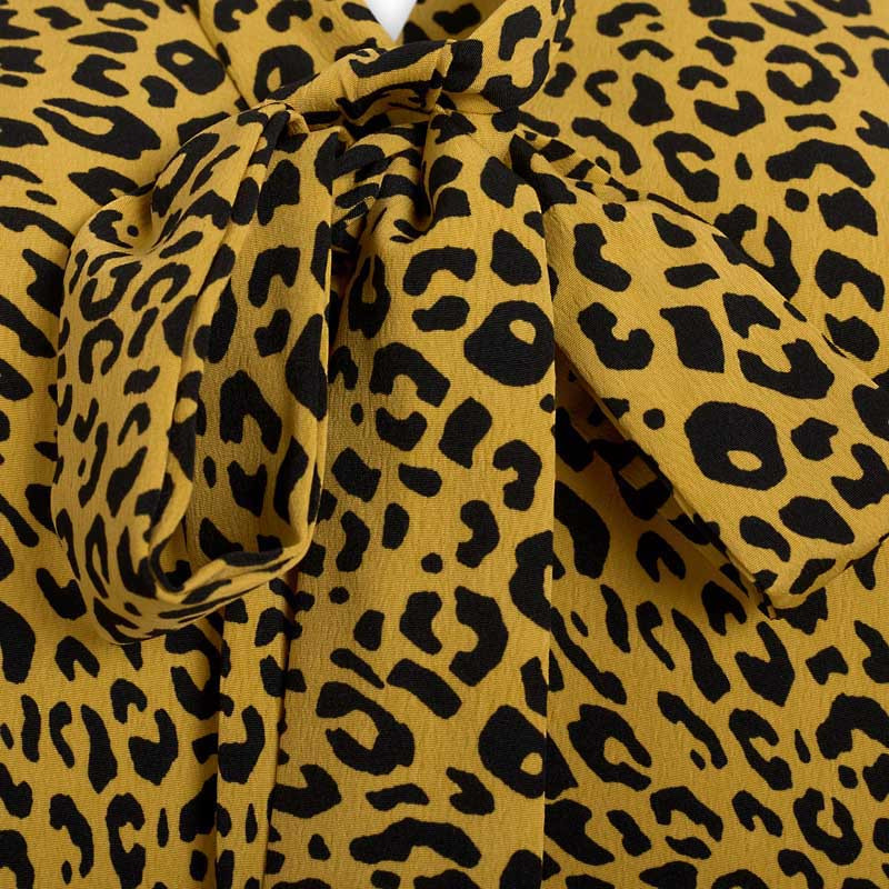 Yellow Animal Dress -