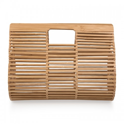 Barrel Wicker Bag -