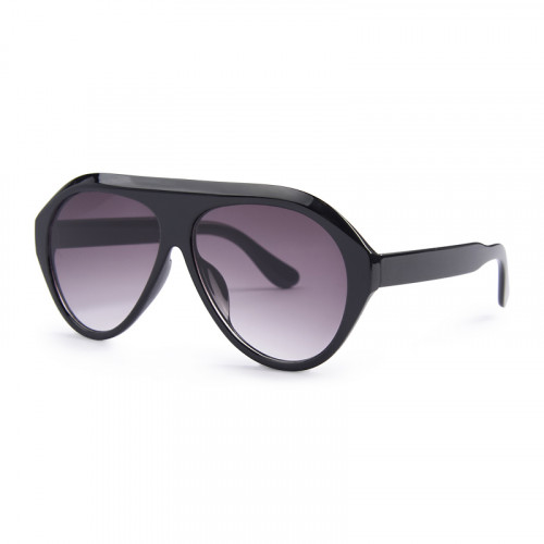 Black Retro Sunglasses -