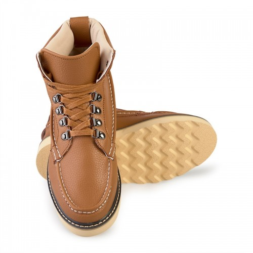 Tan Work Boot -