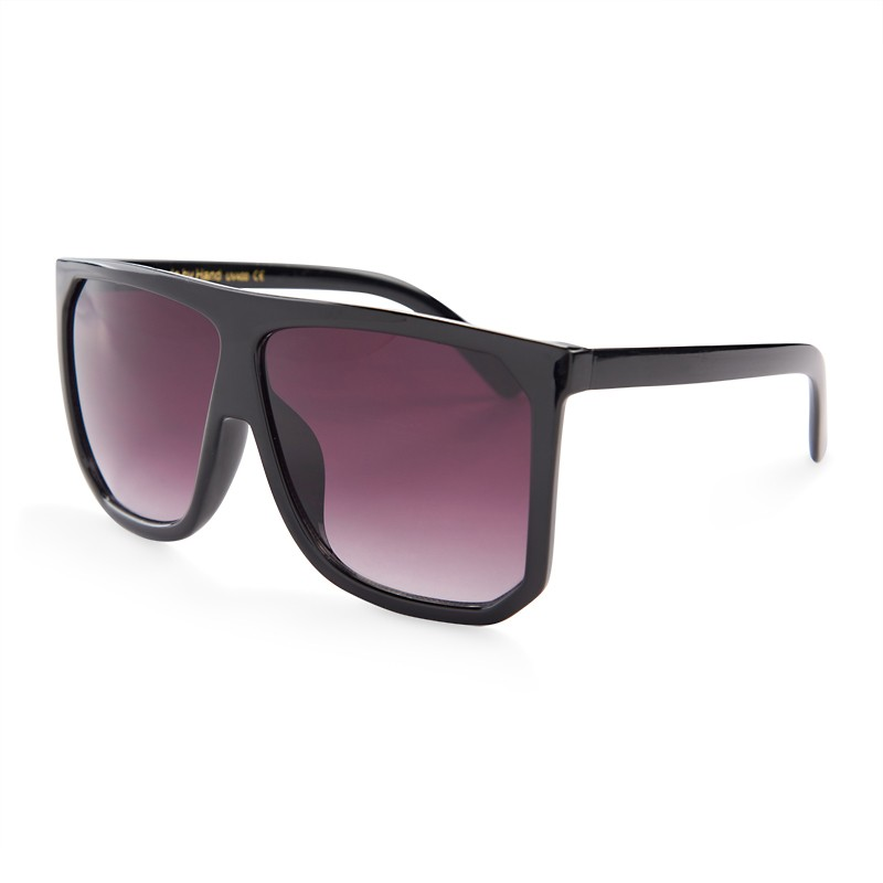 Black Flat Top Sunglasses -